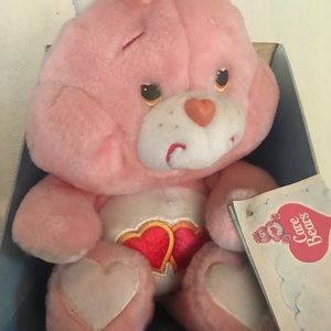 "Vintage ""Love-A-Lot"" Care Bear (1985 Edition)"